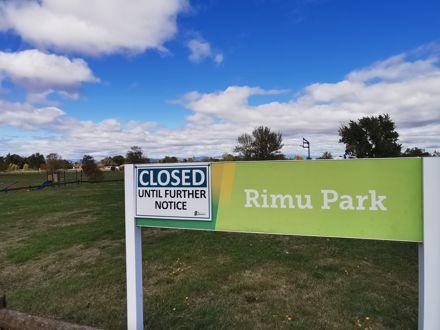 Rimu Park COVID-19 closure