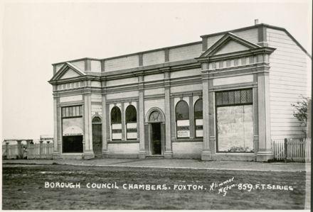 Foxton Borough Council Chambers