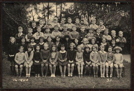 Terrace End School - Standard 1, 1940