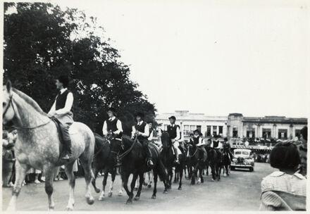 Line of Equestrians - 1952 Jubilee Celebrations