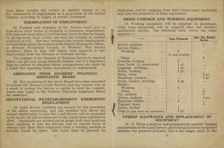 New Zealand Women's Land Service Handbook of Information 4