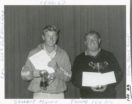 West End Amateur Swimming Champions - Stuart Munro / Terry Rush