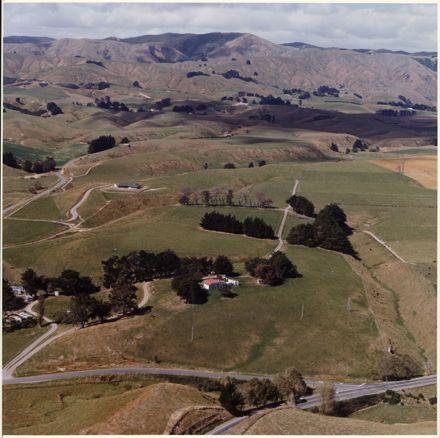 Aerial Photograph of Turitea