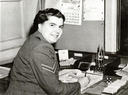 Corporal Edna Spillman, Palmerston North