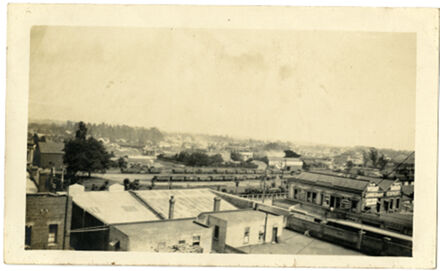 Andrews Collection: Main Street Railway Yard