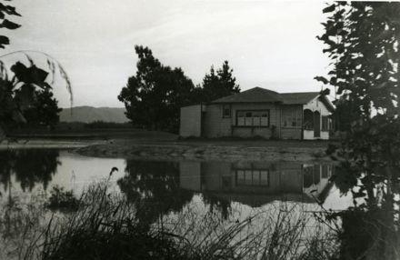 Flood at Awatapu Golf Course