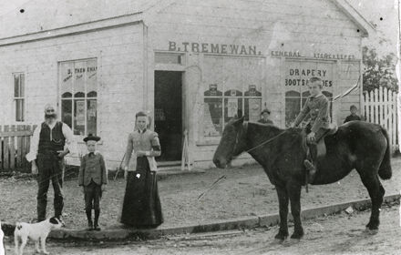 Bunnythorpe's First Store