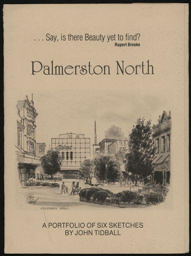 Palmerston North: A Portfolio of Six Sketches 1