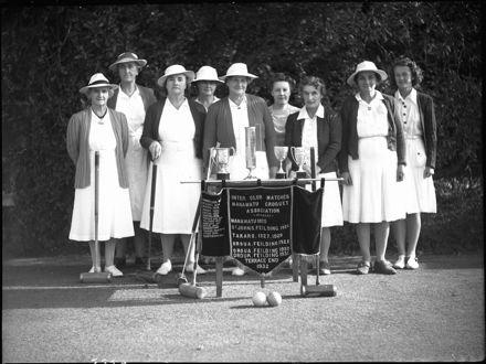 Takaro Croquet Club winners, Palmerston North