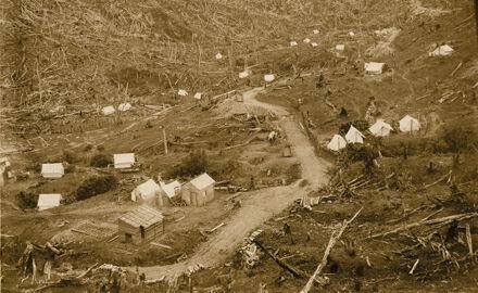 Arapete Workmen's Camp - Mangahao Electric Power Scheme