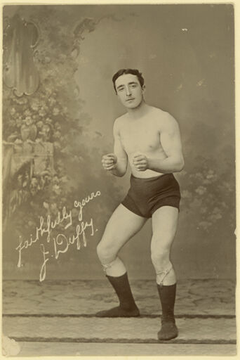 Demonstration of a Boxing Stance