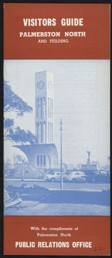 Visitors Guide Palmerston North and Feilding: January-March 1962