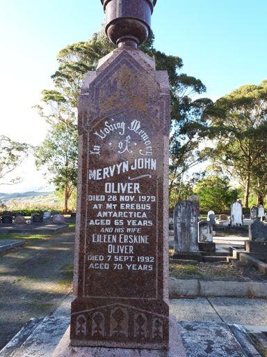 Mervyn John Oliver - Erebus Disaster