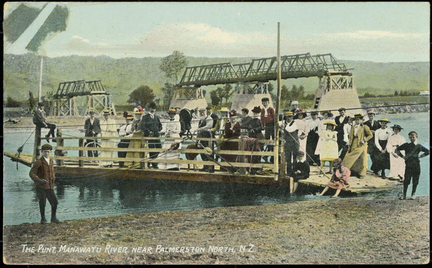 The Punt, Manawatu River Near Palmerston North 1
