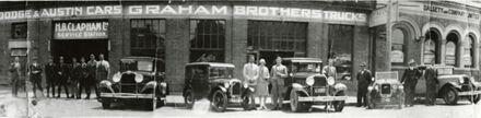 H B Clapham Ltd Service Station, Queen Street