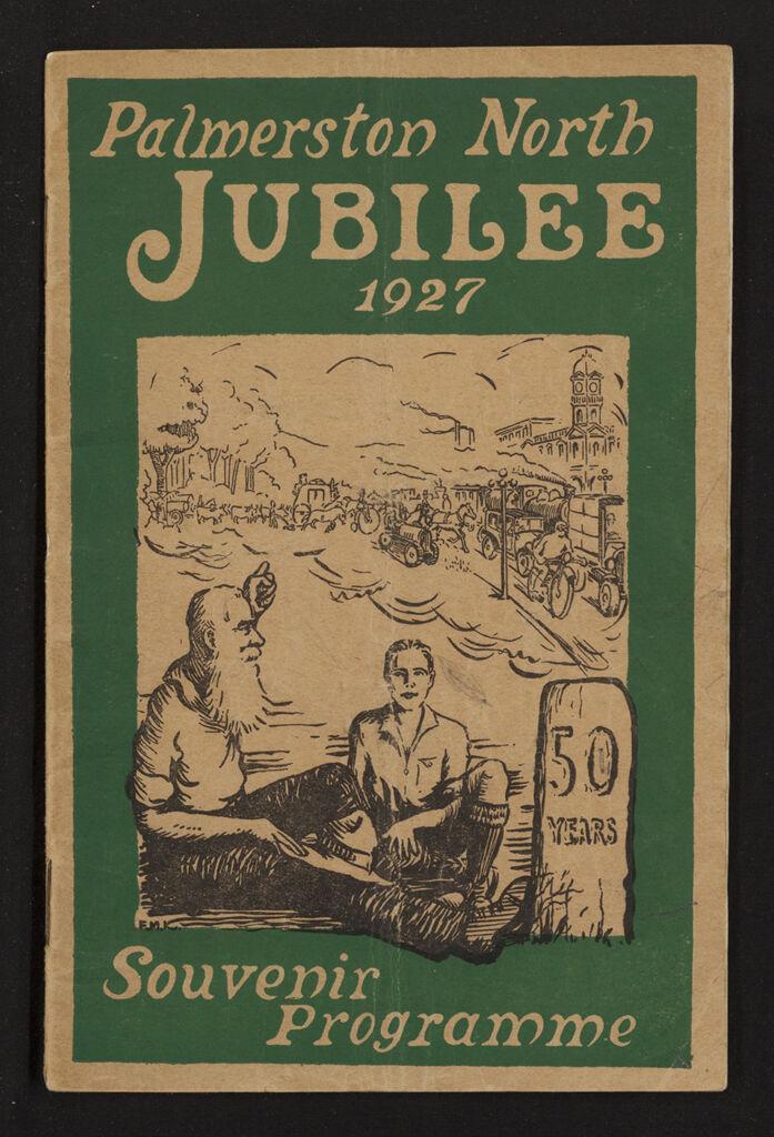 Palmerston North 1927 Jubilee Souvenir Programme 1