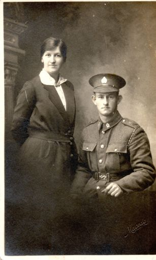 Les and Maud Miller, Les Miller WWI collection