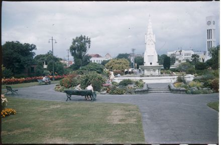 Coronation Fountain in The Square, Palmerston North