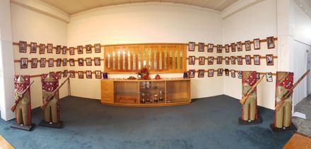 Memorial, Maori Battalion Hall