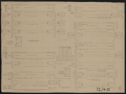Architectural Plans, T&G Building 9
