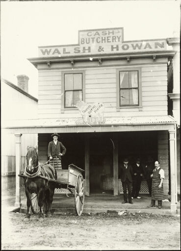 Walsh and Howan's Butchery, Foxton