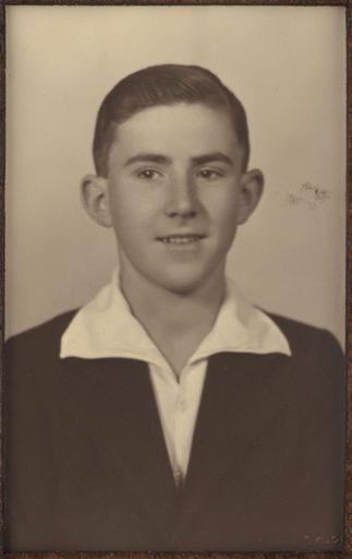 Neil Johansen - Terrace End School Dux, 1936