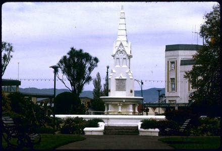 King Edward VII Coronation Memorial Fountain, The Square