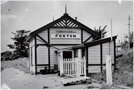 Foxton Railway Station