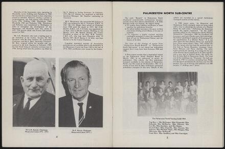 History of the St John Ambulance Association Manawatu, 1900-1975 4
