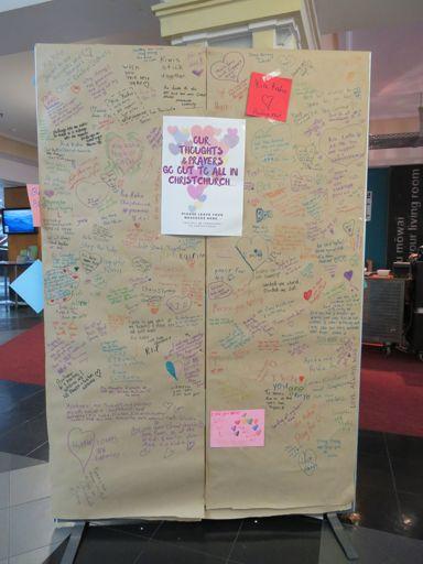 Christchurch terror attack memorial messages - 10