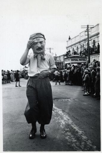 Costumed Man - 1952 Jubilee Celebrations