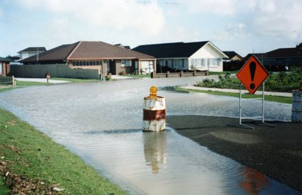 Unidentified Street in Flood