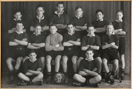 Palmerston North Technical School First XI Soccer, 1939
