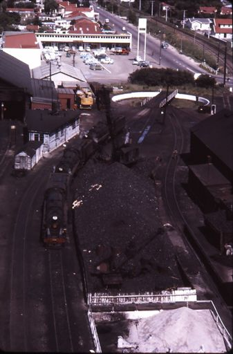Coal Pile - Palmerston North Railway Yards