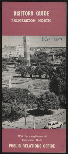 Visitors Guide Palmerston North: July-September 1966