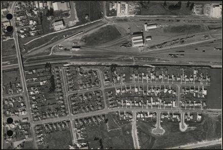 Aerial map, 1966 - F6