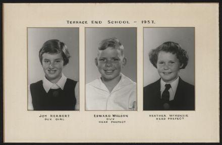 Terrace End School Student Leaders, 1957