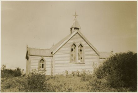 Maori Anglican Church, Moutoa