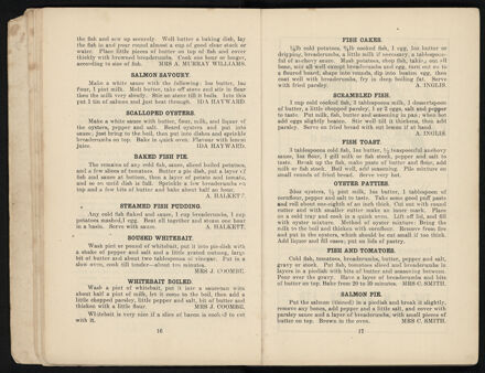 Town and Country Patriotic Women Worker's Cookery Book: Page 10