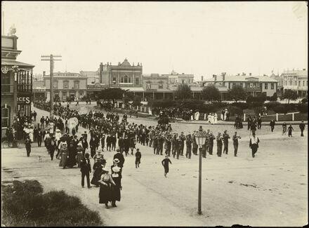 Friendly Society parade, Palmerston North
