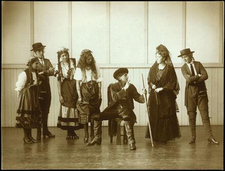 "Craven School Pupils in ""The Cup"""