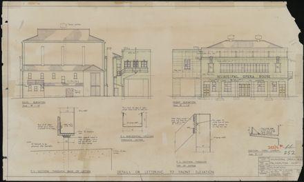 Municipal Opera House sheet 2