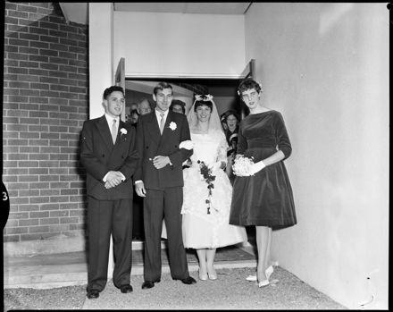 """Wedding at Hospital Chapel"""