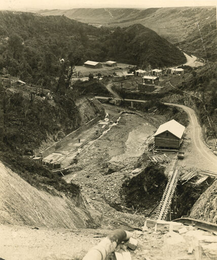 Construction of the Mangahao Electric Power Scheme