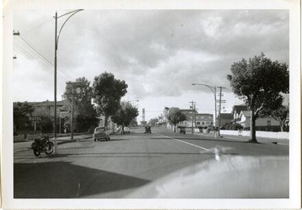 Driving Down Fitzherbert Avenue