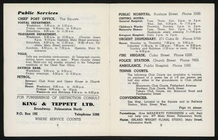 Palmerston North Diary: May 1958 6