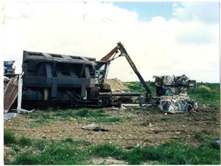 Steel at Awapuni Landfill