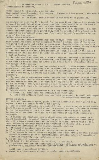 Palmerston North Emergency Precautions Scheme instructions