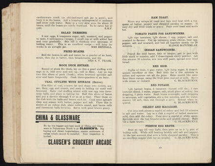 Town and Country Patriotic Women Worker's Cookery Book: Page 26