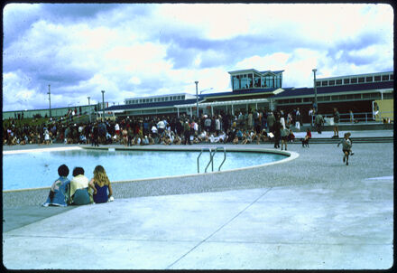 Crowds - Opening of Lido Swimming Complex